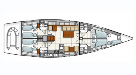 Hanse 545 hanse545_layout