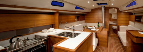 Salona 44 sailing boat