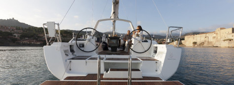 Beneteau Oceanis 41 yacht charter in Biograd
