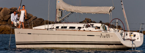 Chartering on Beneteau First 35