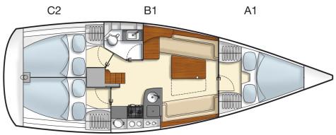 Hanse 355 hanse355-layout