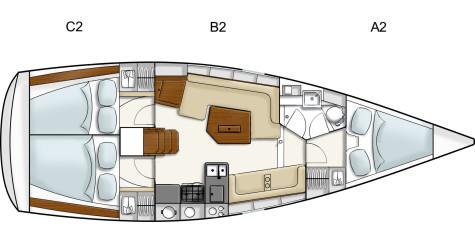 Hanse 350 layout-hanse-350
