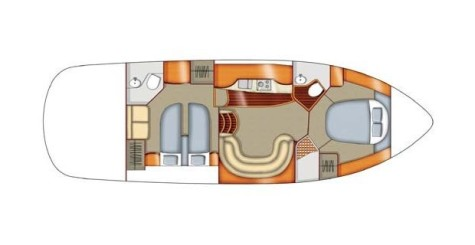 Sealine S42 layout-165