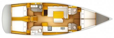 Sun Odyssey 509 plan-4-kabine-2