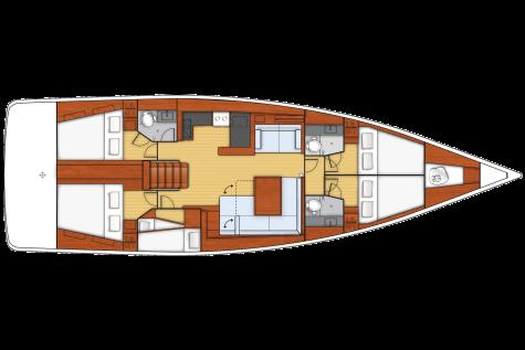Beneteau Sense 55 plan-91