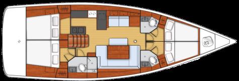 Beneteau Oceanis 48 plan-4kabine-2
