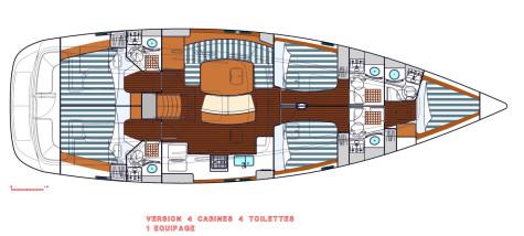 Beneteau Oceanis 523 plan-90