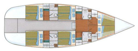 Dufour Atoll 6 plan-101