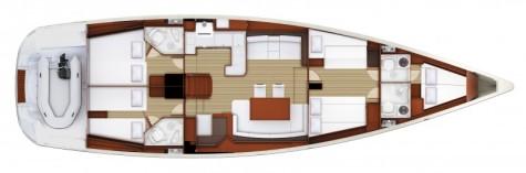 Jeanneau 57 plan-102
