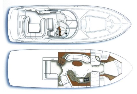Sea Ray 455 plan-112