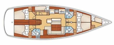 Beneteau Oceanis 50 Family plan-98