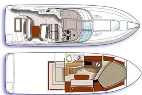 Sea Ray 275 sea_ray_335_sundancer_layout